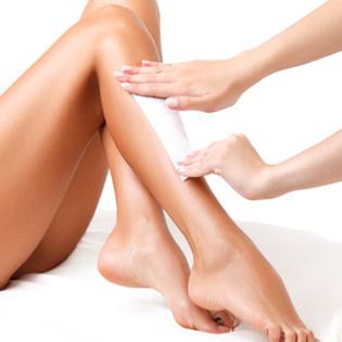 1/2 legs waxing