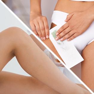 Full legs & bikini waxing
