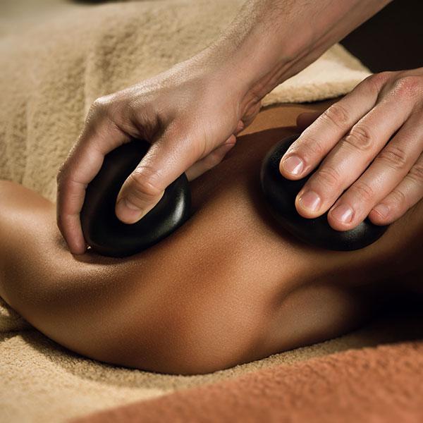 Hot stone massage (30min)