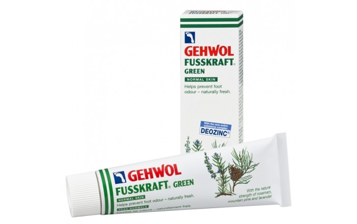 GEHWOL FUSSKRAFT GREEN, Normal skin 75ml