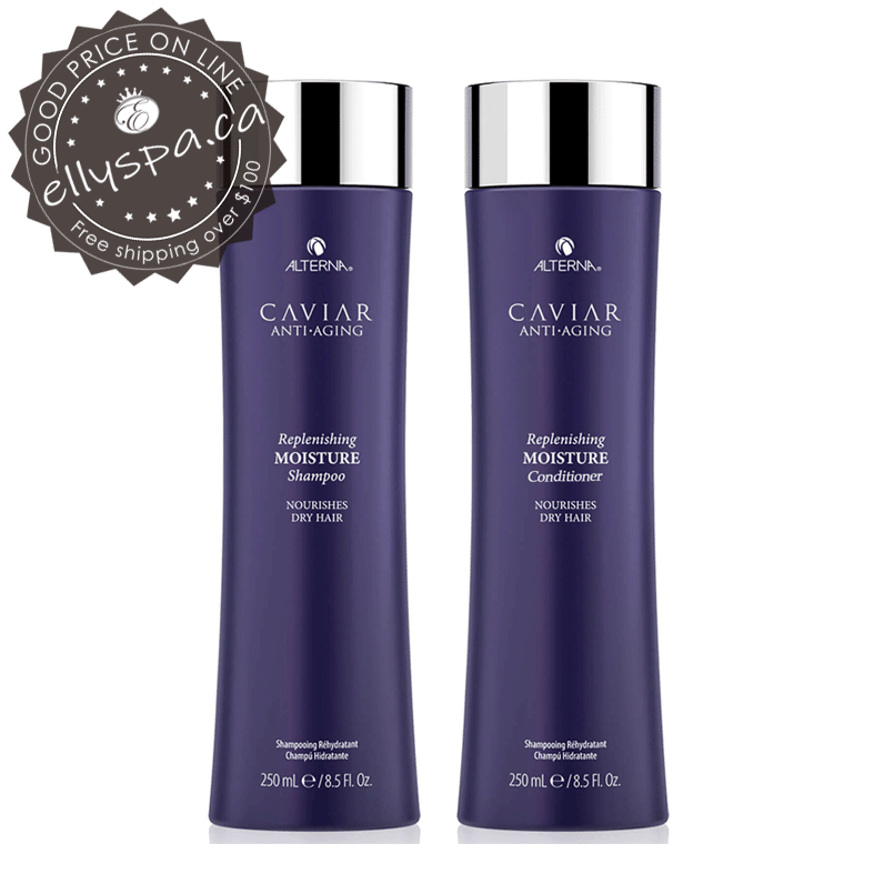 ALTERNA Anti-Aging® Replenishing Moisture Shampoo and Conditioner 8.5oz,16.5oz