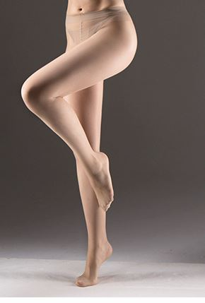 Zokki High Quality Silk Panty Hose Seamless T-crotch- Sand color 2 PACKS