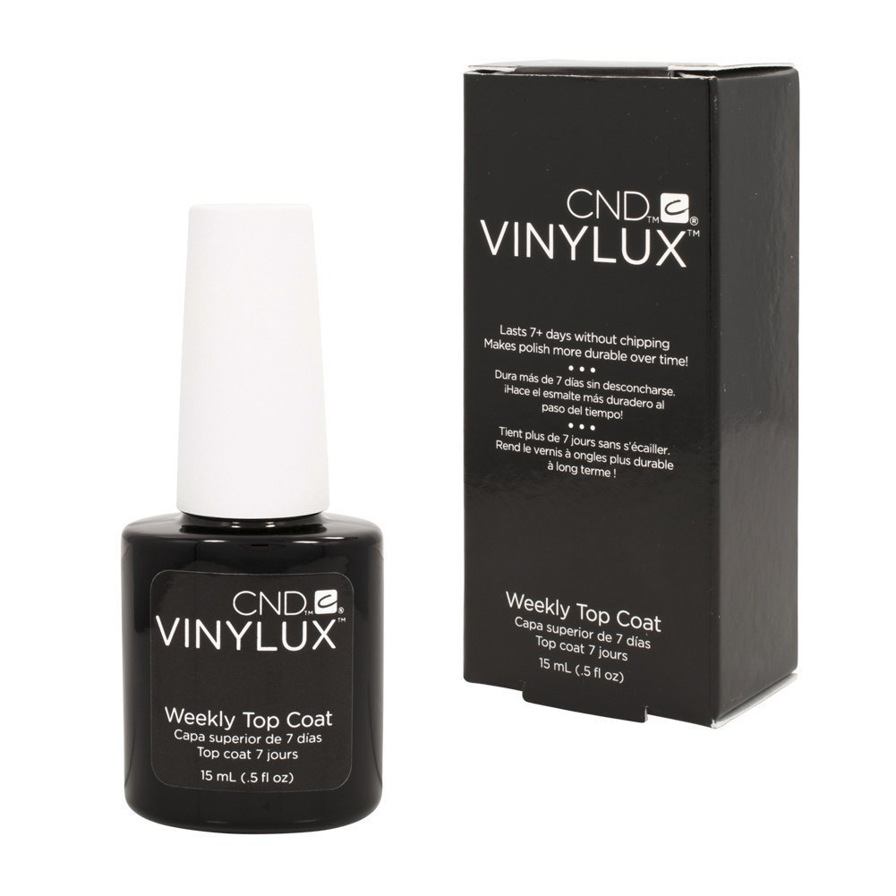 CND Vinylux Weekly Top Coat, Clear 0.5 fl oz (15 ml)